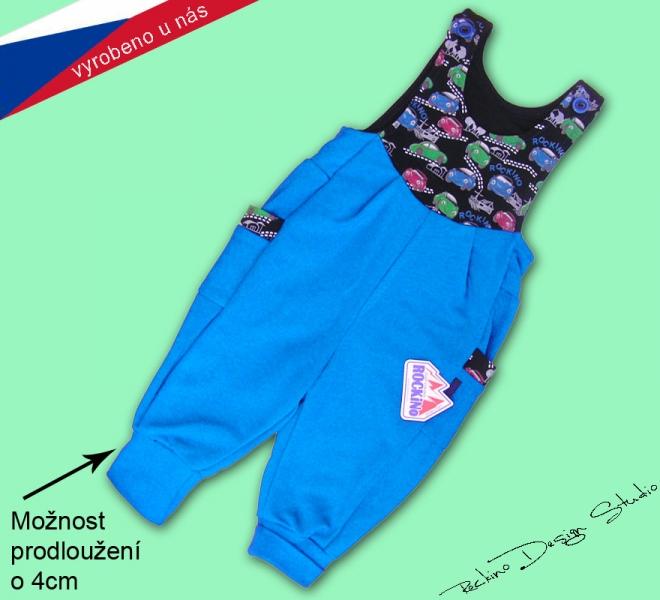 Dětské tepláky s laclem ROCKINO vel. 74 dce821335a