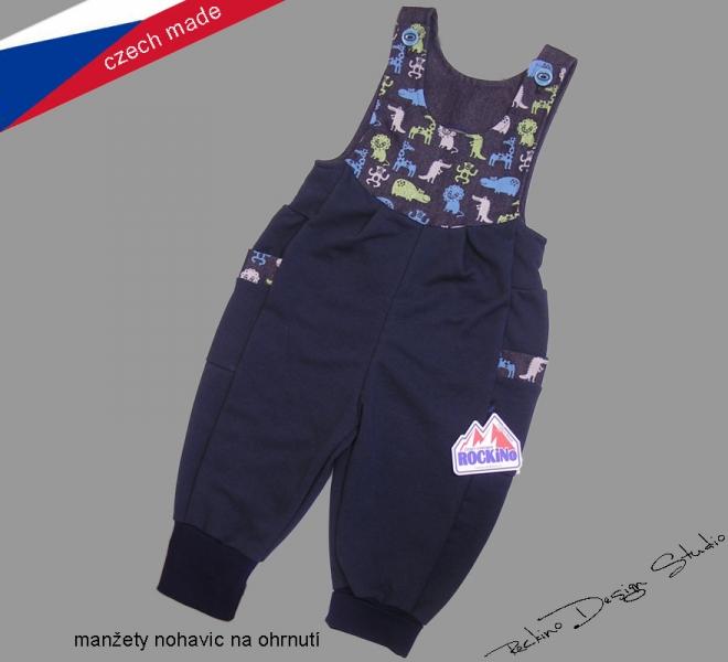 Dětské tepláky s laclem ROCKINO vel. 80 c96cfe4560