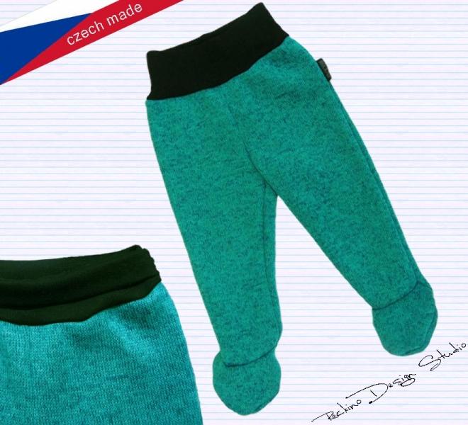a5aa73e6612 Dupačkové pleteninové kalhoty ROCKINO vzor 8057 vel. 74