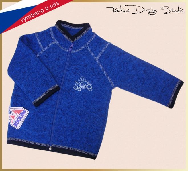 da931f97d8c7 Detský sveter ROCKINO vzor 8062 veľ. 74 - modrý
